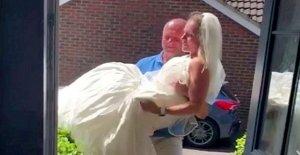 Mujer cae 112 libras para que su esposo pueda llevar su – 18 años después de la boda