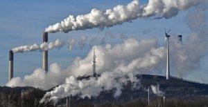 Que atrapan el calor de dióxido de carbono en el aire golpea nuevo récord