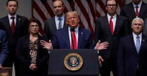 Trump insiste en que la recuperación económica que viene 'antes' de lo que se cree, dice el gobernador de Maine 'abrir su estado de seguridad'
