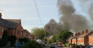Vertedero fuego apagó después de la quema de días