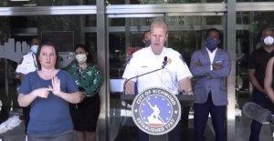 Virginia jefe de la policía: George Floyd manifestantes bloquearon los socorristas de incendio de la casa con el niño interior