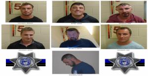 7 hombres arrestados después de acosar a la familia negra con saludos Nazis en Oregon playa: policía