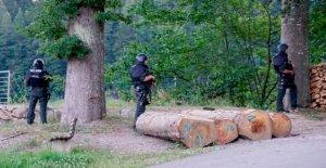 Alemania policías de búsqueda para 'Rambo' armado con arco y flecha en el Bosque Negro