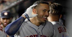 Astros' Carlos Correa instando a la esposa, la ex reina de belleza, a permanecer fuera de los salones hasta que termine la temporada