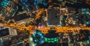 Atlanta corredores de la calle de bloque de intersección, realizar 'donuts, el vídeo de muestra