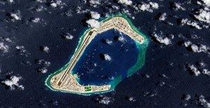 Beijing del Mar de la China meridional proyecto ilegal, NOS dice
