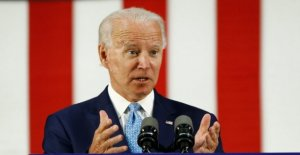 Biden anuncia campaña climático consejo para ayudar a movilizar a los votantes, miembros incluyen a ex-rival Steyer