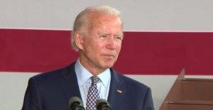 Biden empuja populista 'made in America' plan para la bomba de la economía