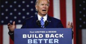 Biden promesas de reducir las emisiones de carbono de la electricidad para el año 2035