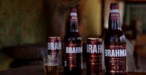 Campaña de elaboración de la cerveza para obtener el dios Hindú Brahma fuera popular de la cerveza