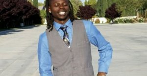 Colgando de la muerte de NOSOTROS hombre negro gobernó el suicidio