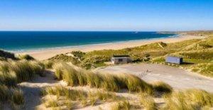 Cornish costera de bienes raíces, incluyendo la playa para la venta