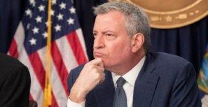 Coronavirus conduce a la ciudad de nueva york bill de Blasio para cancelar todos los grandes eventos a través de septiembre
