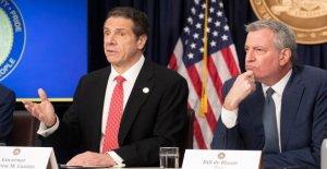 Detrás de los pleitos: Cuomo, bill de Blasio rocosa de la relación política se remonta a décadas