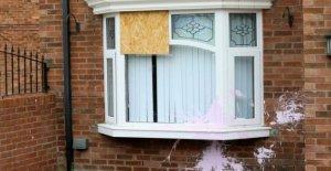 Disparos en Dunmurry casa en 'despiadado ataque'