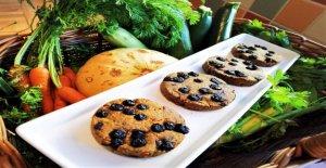 El Chef crea más saludables del mundo' cookie con todas las 5 porciones diarias de frutas y verduras