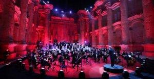 El líbano tiene Baalbek concierto a pesar de virus, crisis económica