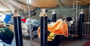 El oxígeno ya se ejecuta bajo como COVID-19 de sobretensiones en el Sur de África
