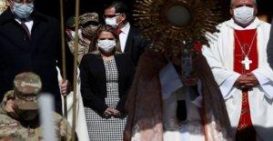 El presidente de bolivia, ha COVID-19 como virus hits de la región de élite
