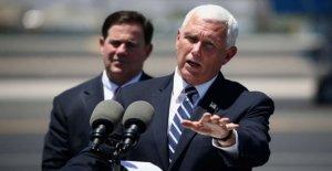 El vicepresidente Mike Pence Arizona viaje se retrasó debido a agentes del Servicio Secreto de prueba positiva para COVID-19