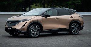 Eléctrico Nissan Ariya a tomar en Tesla Model S con 300 millas, $40 GRAMOS precio