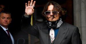 En el reino unido caso de difamación, Depp se niega a golpear ex-esposa Amber heard