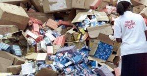Falso industria farmacéutica crece en el Oeste de África