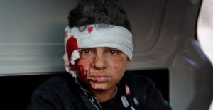 'Flagrante de los crímenes de guerra cometidos en Idlib batalla