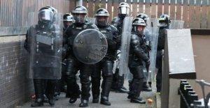Fomentar la condena segunda noche de ataques contra la policía
