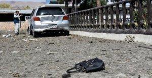 Funcionarios afganos: Kabul en la carretera de bombardeo mata a 4 civiles