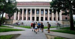Harvard para traer tantos como 40 por ciento de los universitarios a la escuela en el otoño, pero la mayoría va a quedarse en casa