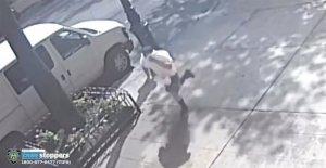 Hombre acusado de acuchillar al niño en la Ciudad de Nueva York de la calle en el ataque al azar