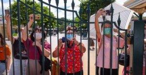 Hong KONG Disneyland a cerca de un mes después de su reapertura