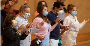 Indignación después de California prohíbe cantar en las iglesias, en medio de coronavirus pandemia
