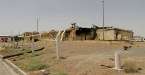 Irán niega los informes de los frescos de la explosión