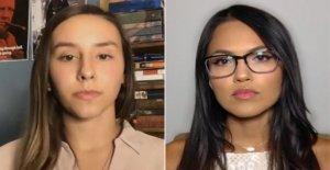 Jóvenes conservadores de las mujeres que fueron virales por defender a los liberales de la mafia dicen que han recibido amenazas de muerte