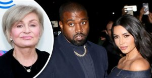 Kanye West, Kim Kardashian de golpe por Sharon Osbourne para hacer alarde de que el multimillonario estado en medio de coronavirus pandemia