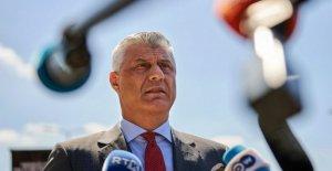 Kosovo presidente de visitas fiscales que le acusó de