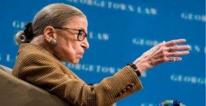 La Corte suprema de Justicia Ginsburg, de nuevo en el hospital
