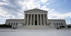 La Corte suprema tiene mucho de Oklahoma es Nativo de la tierra Americana