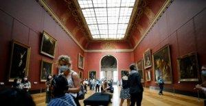La Mona Lisa de vuelta en el trabajo, los visitantes limitado, como el Louvre se vuelve a abrir