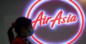La aerolínea AirAsia en el futuro de la importante duda