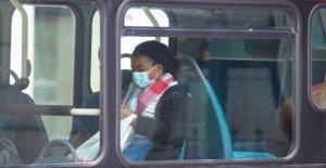 La cara cubiertas en transporte público desde el 10 de julio de