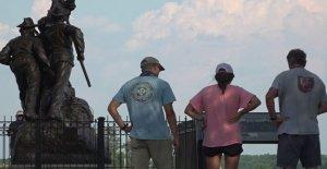 La confederación monumentos en Gettysburg suscitar el debate entre los historiadores