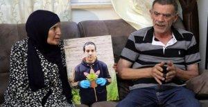 La familia le dijo que no imágenes de rodaje de autistas Palestino