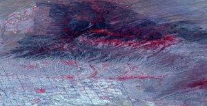 La imagen satélite de la NASA muestra la cicatriz de Arizona Bighorn fuego