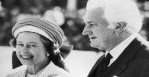 La reina ', no se advierte' de Australia PM de 1975 de la arpillera