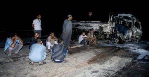La tubería rota en Egipto provoca enormes blaze, hiriendo a 17