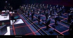 Lo que es como para llevar a cabo La traviata' en directo para una audiencia en la edad de coronavirus