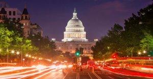 Los Demócratas del congreso de destino de la Confederación símbolos en el Capitolio, bases militares de EE.UU.